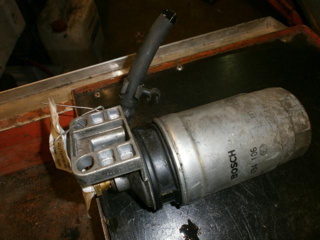 Bosch polttoainesuodattimen jalka